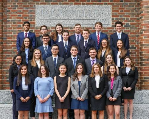 Class of 2021 First-Year Fellows