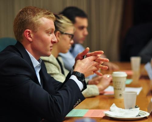 Rockefeller Leadership Fellowship students in Washington, D.C.