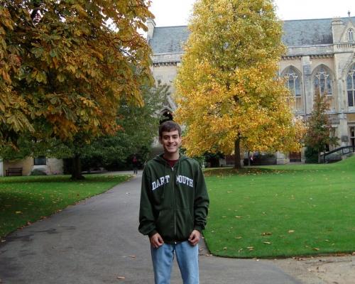 Brian Freeman '11 at Keble College