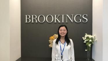 Hana Dai '20 Brookings Institution