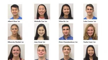 2018-2019 Keble Participants