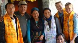 Sienna Craig in Nepal
