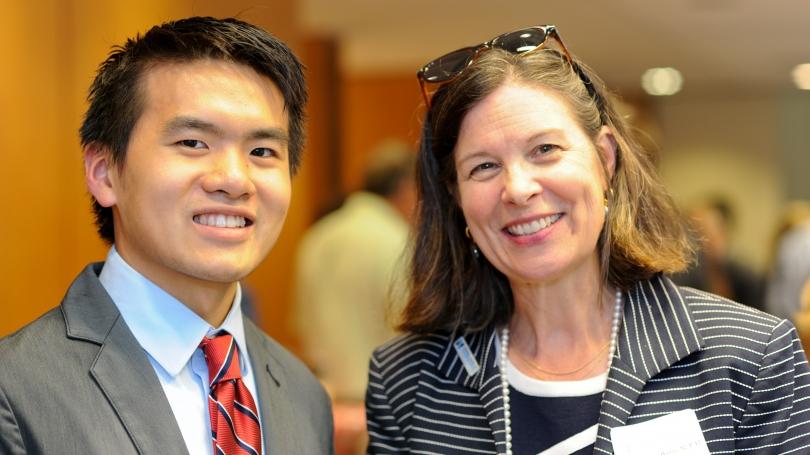 At the 15X Alumni Reception in Washington, D.C.