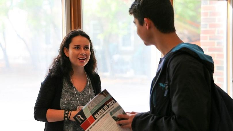 Bethany Malzman during the 17F Open House