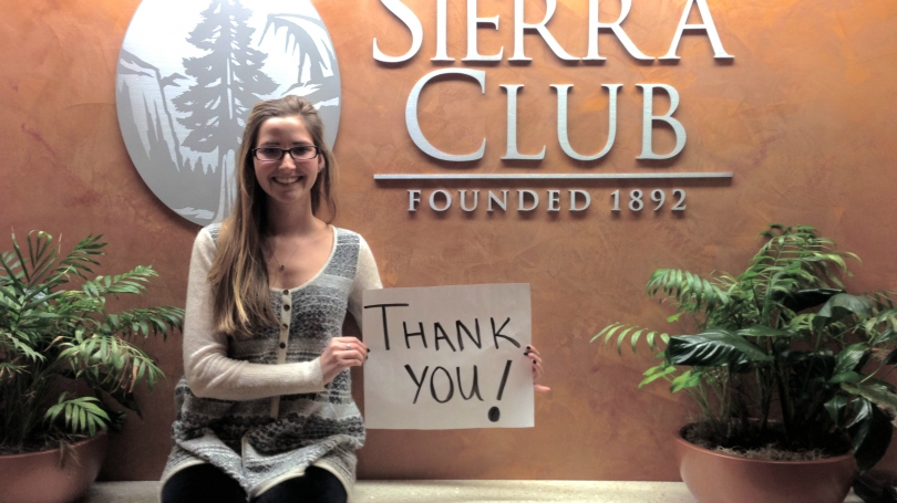 Catherine Cima at the Sierra Club