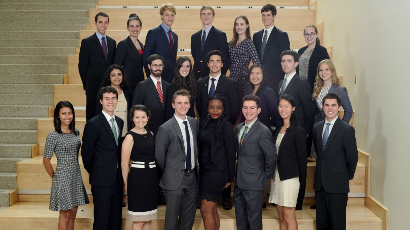 2016 First-Year Fellows