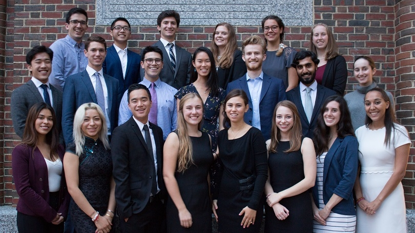 Class of 2019 Rockefeller Leadership Fellows
